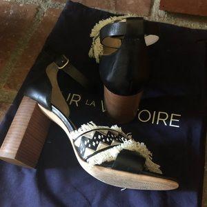 e064f93bd87 Pour La Victoire Shoes - Anthropologie Pour la Victoire Havana block heels